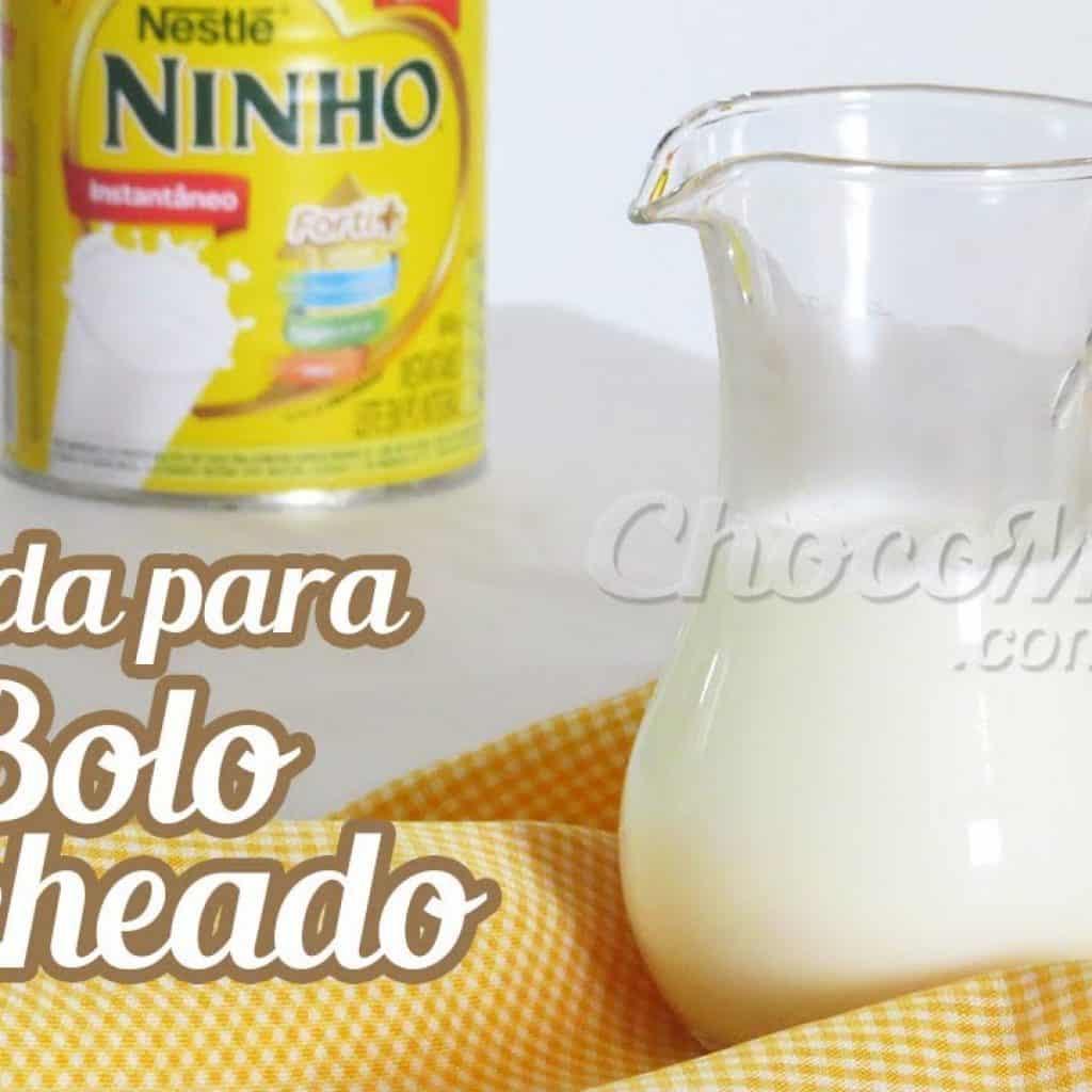 CALDA DE LEITE NINHO FÁCIL PARA MOLHAR BOLO RECHEADO | Receita ChocoMeUp