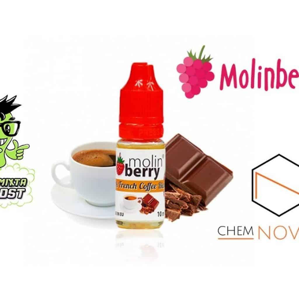 Degustação de aromas Molinberry: café francês escuro | Café com chocolate belga 1 Quer ver + das receitas que estão postadas,  acesse agora Vivendo de Brigadeiro