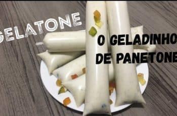 NOVIDADE EXCLUSIVA!!!! - GelaTONE - O Geladinho de Panetone!! - Minha Receita Secreta!! LANÇAMENTO