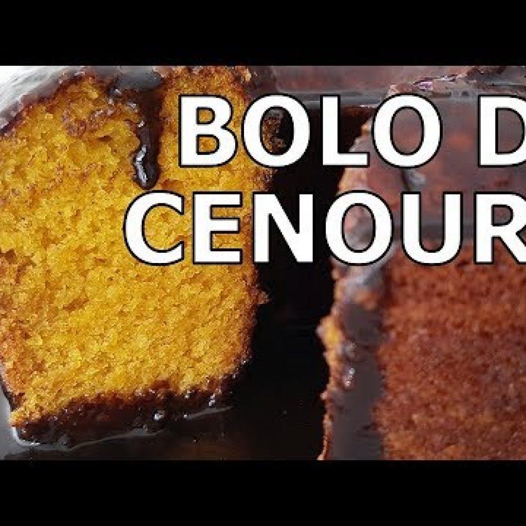 Como fazer bolo de cenoura com chocolate sem ovo e vegano infalível!
