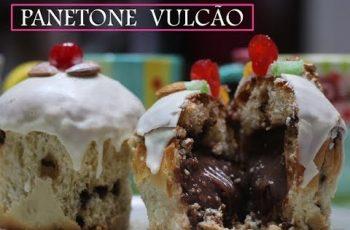 PANETONE VULCÃO POR DEBORA DIAS