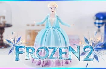 FROZEN 2 - Torta decorada de ELSA - Tan Dulce