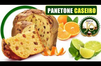 Panetone CASEIRO (Receita)