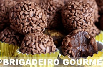 BRIGADEIRO GOURMET (FAÇA E VENDA) - RECEITAS QUE AMO