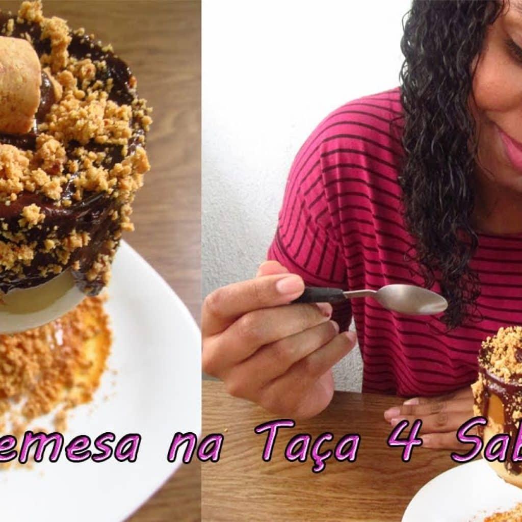 Sobremesa na taça 4 sabores / Cozinhando Demais
