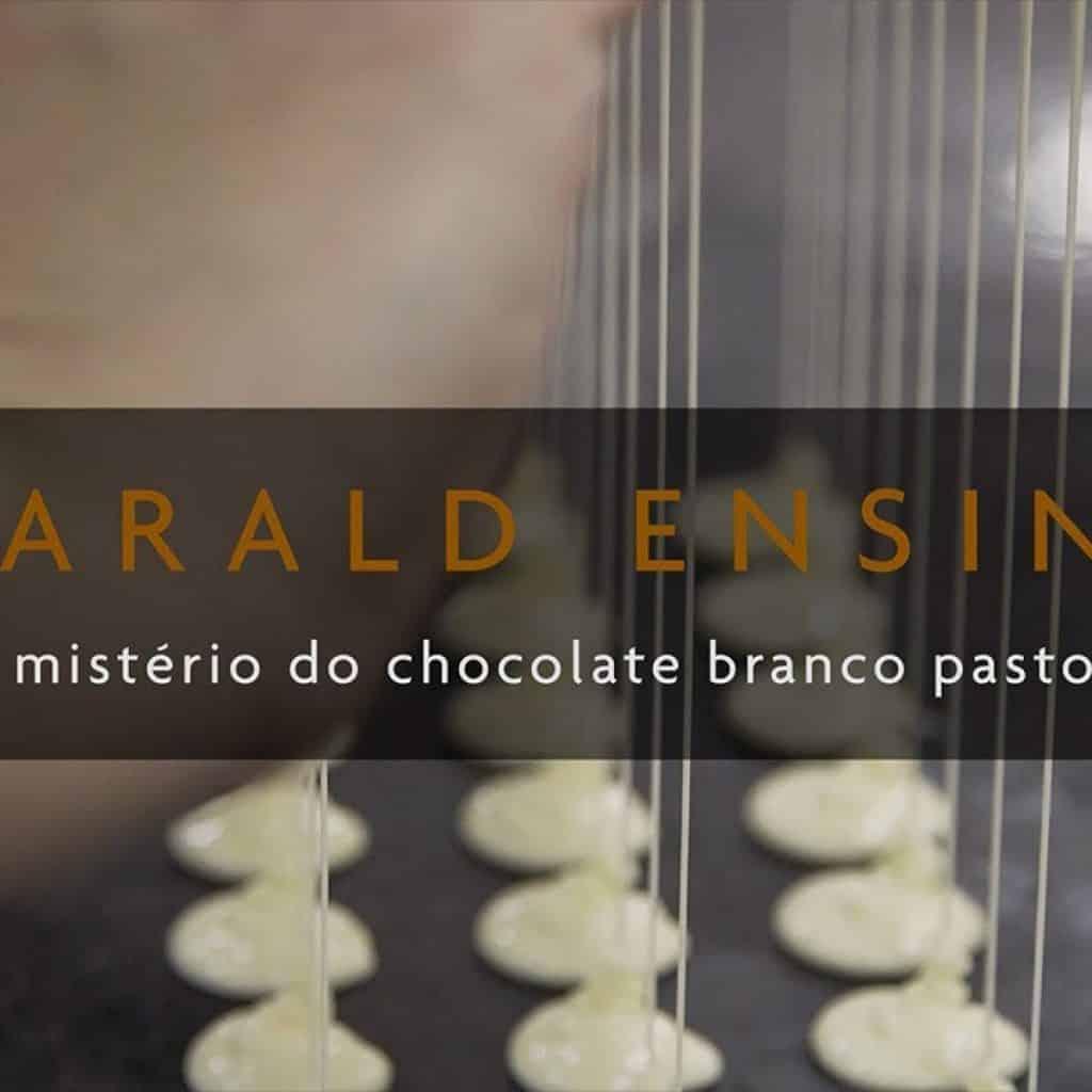 Harald Ensina - O mistério do chocolate branco pastoso 1 Gostaria de assistir + das receitas que estão postadas,  clique aqui Vivendo de Brigadeiro