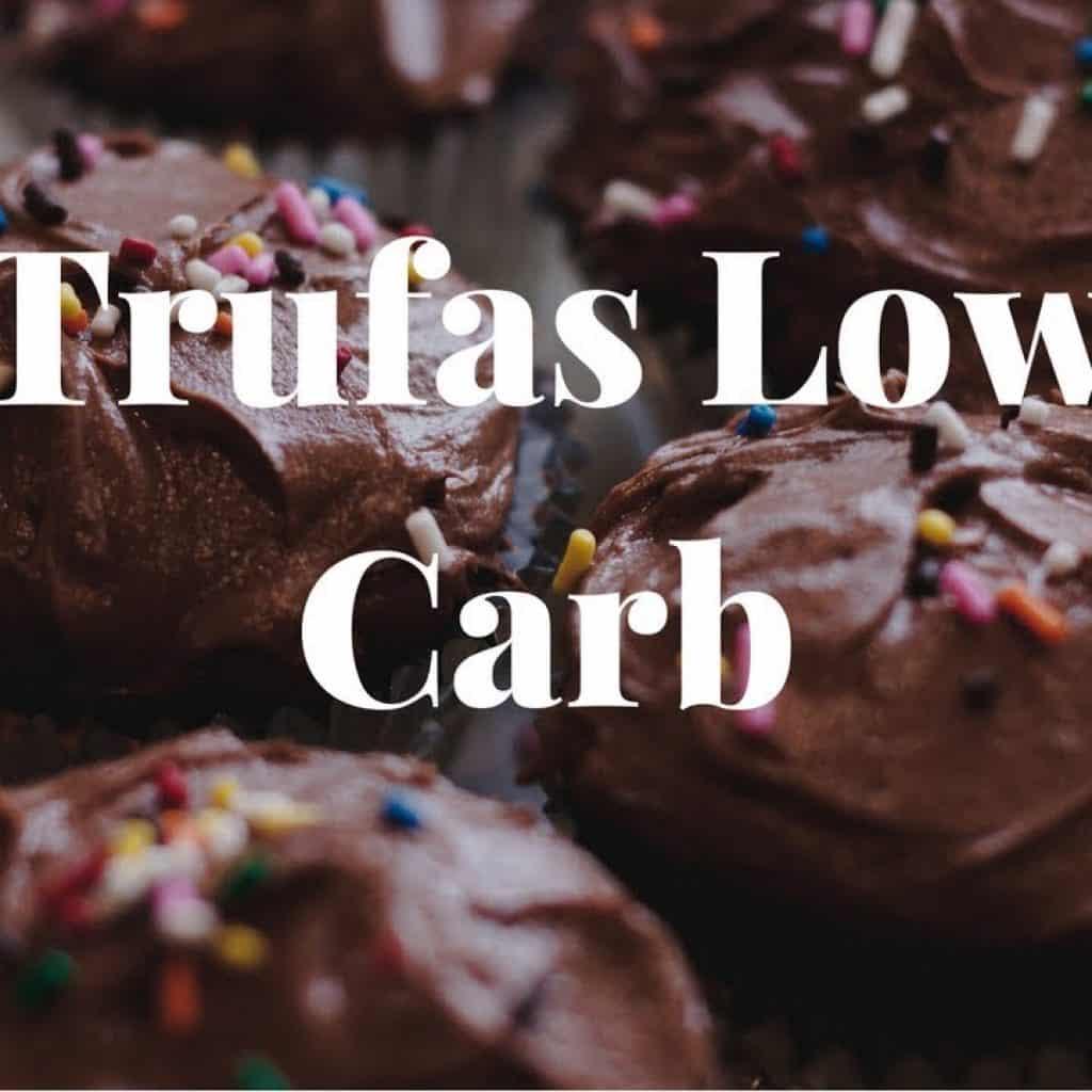 Trufa Low Carb - Comer chocolate sem culpa e fit #emagrecerdevez 2 Quer saber um pouco mais das receitas já disponibilizadas,  vivendo de brigadeiro Vivendo de Brigadeiro