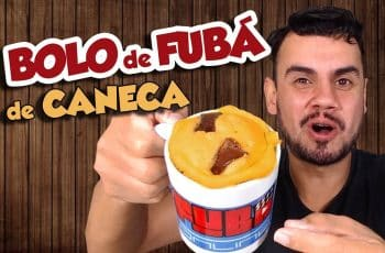 BOLO DE FUBÁ DE CANECA, MUITO DELICIOSO - Fubá online