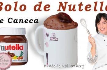 BOLO DE NUTELLA DE CANECA l MUITO FÁCIL E RÁPIDO NO MICROONDAS #16
