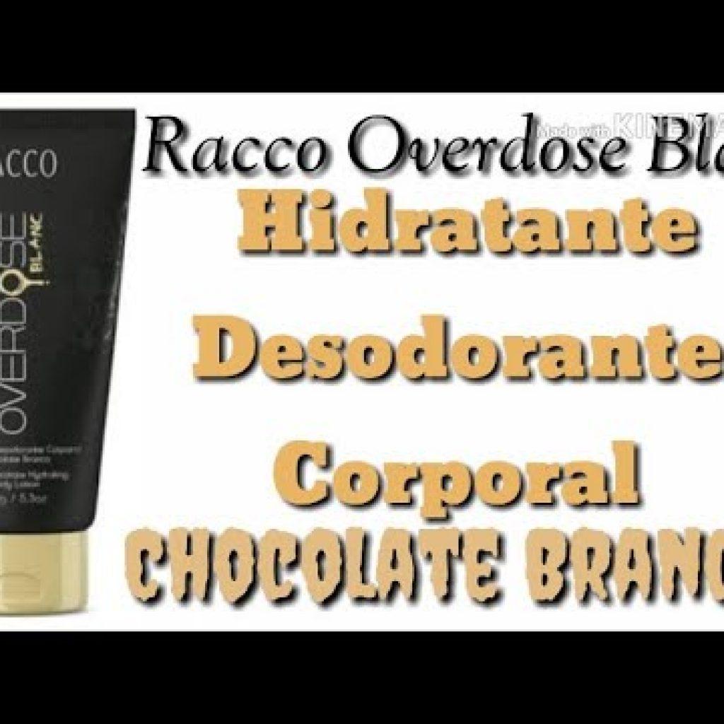 #RACCO Hidratante Overdose CHOCOLATE BRANCO 1 Quer assistir mais destas receitas já publicadas,  clique aqui Vivendo de Brigadeiro