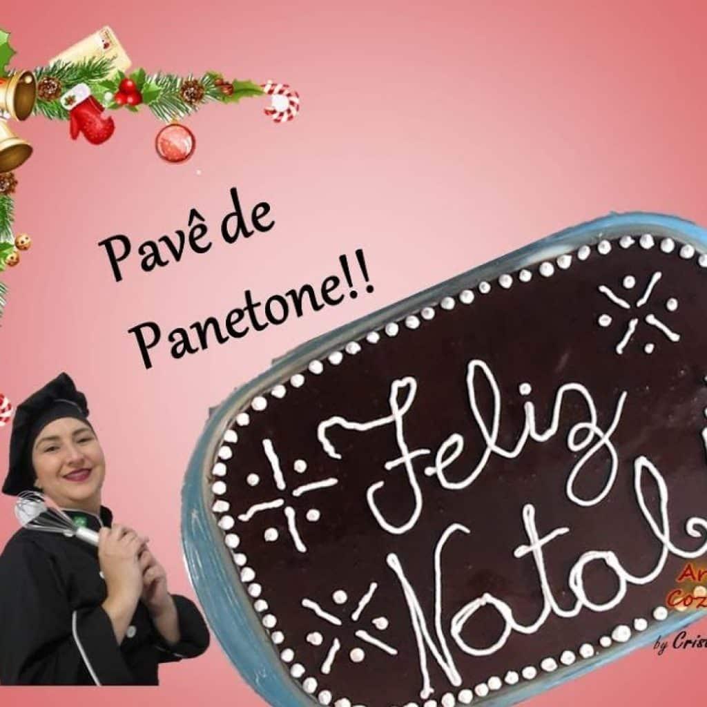 Sobremesa para o Natal - Pavê de Panetone - Super fácil!