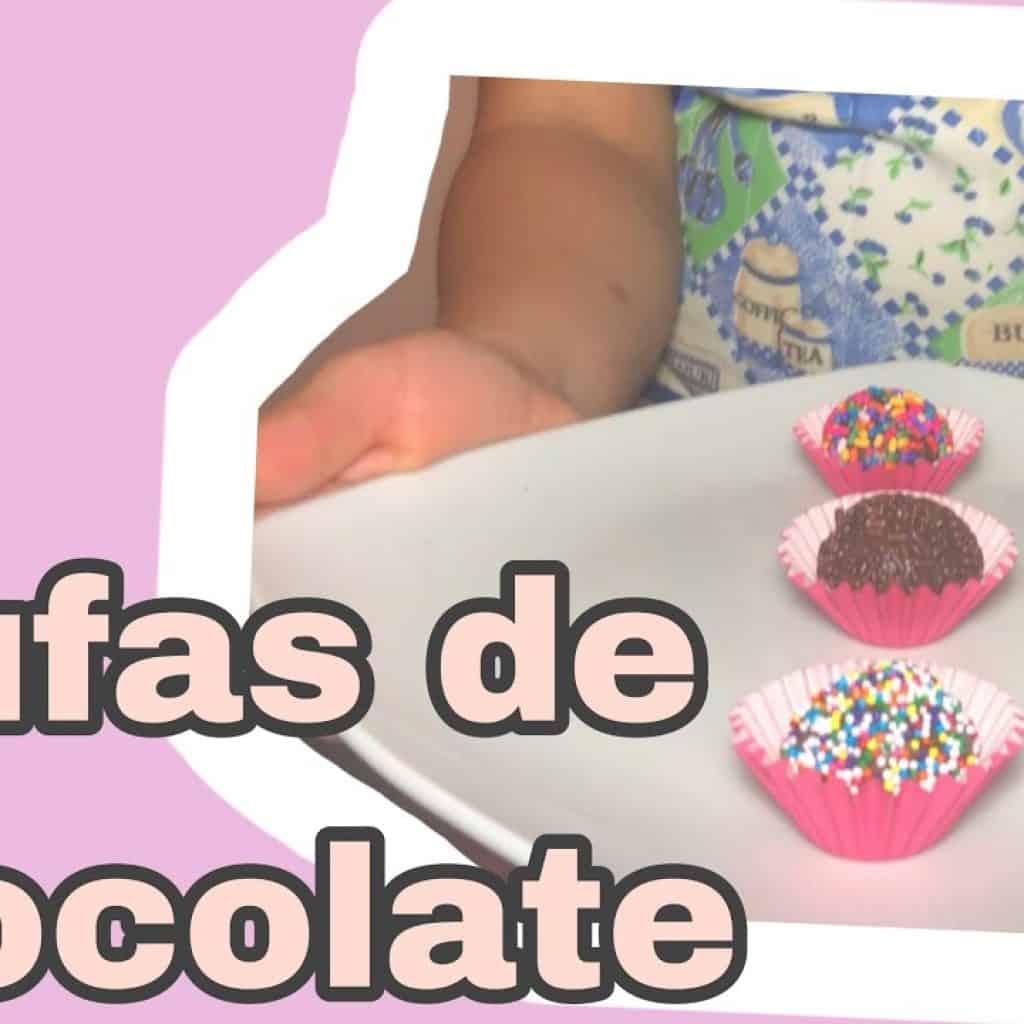 Trufas de CHOCOLATE   FÁCIL DE HACER   Dianita cocina 1 Gostaria de saber mais destas receitas que estão disponibilizadas, saiba mais Vivendo de Brigadeiro
