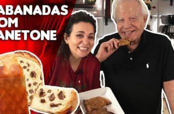 DELICIOSA RECEITA DE NATAL!!! RABANADA DE PANETONE