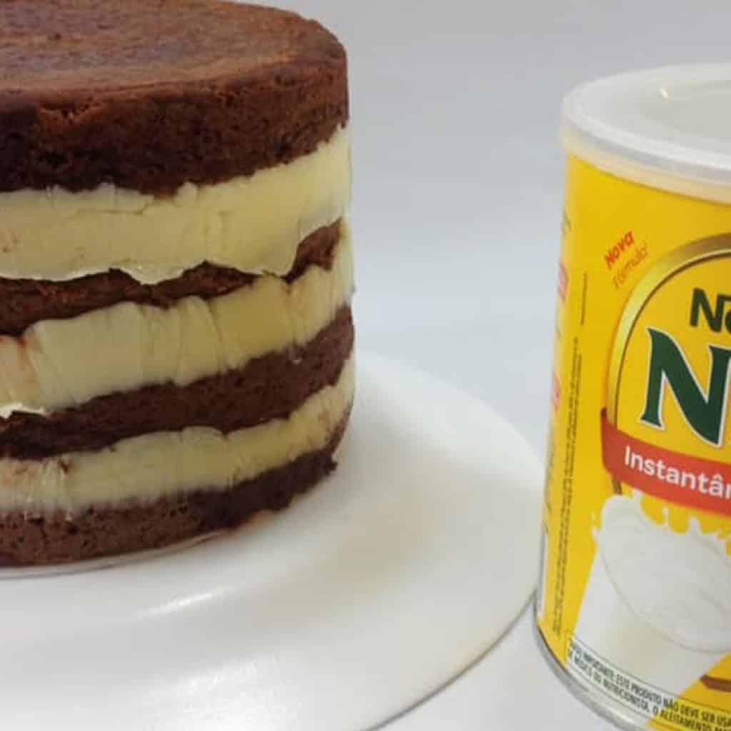 Recheio de leite Ninho | receita rápida e fácil - Alexandre Alarcão