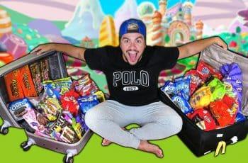 COMPREI R$ 300 REAIS EM DOCES AMERICANOS PARA LEVAR PRO BRASIL !! (DUAS MALAS CHEIAS)