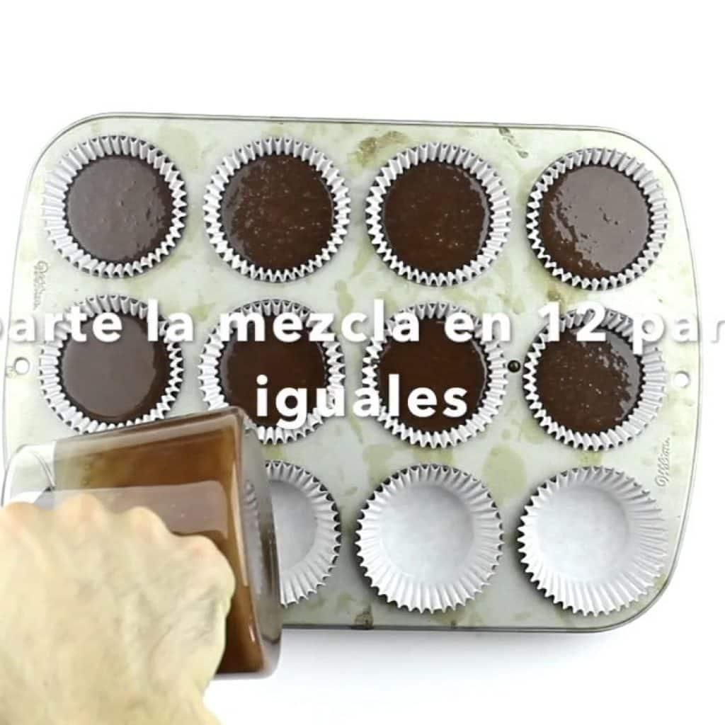 Video Receta Cupcakes de chocolate