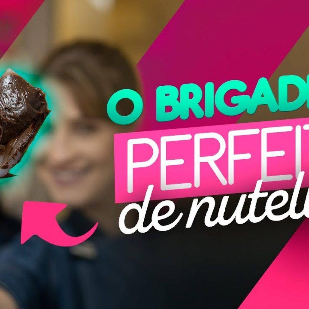 RECHEIO DE NUTELLA PARA BOLO   BRIGADEIRO DE NUTELLA