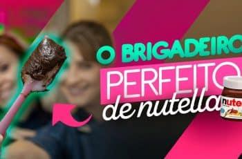 RECHEIO DE NUTELLA PARA BOLO | BRIGADEIRO DE NUTELLA