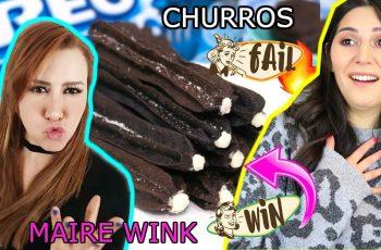 CHURROS DE OREO: La receta de MAIRE WINK! Steph T