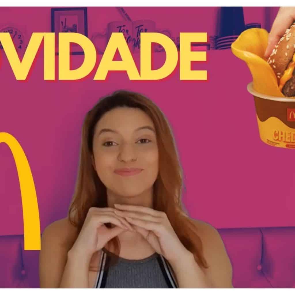 NOVIDADE McDonald's Molho Cheddar No Pote   Mariana Oliveira