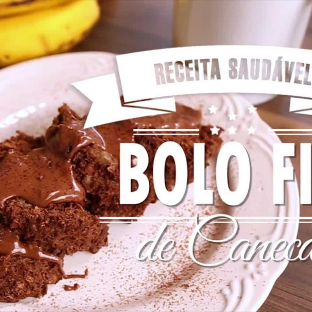BOLO FIT DE CANECA (banana e aveia)   Mamãe Vida Saudável #87
