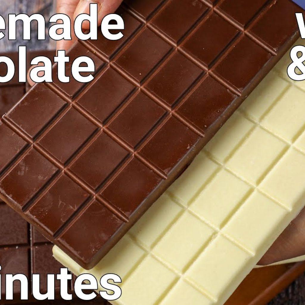 receita caseira de chocolate branco e chocolate ao leite | receita de barras de chocolate caseiras 1 Gostaria de ver + das receitas já publicadas, visite Vivendo de Brigadeiro