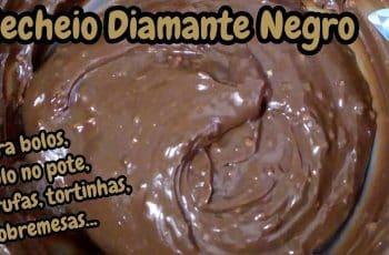 RECHEIO DIAMANTE NEGRO PARA BOLO NO POTE, RECHEIO PARA BOLO, TORTAS, TRUFAS, SOBREMESAS NO POTE