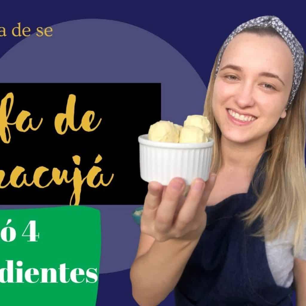 Trufa de Maracujá Super Fácil 1 Quer ver + destas receitas que estão postadas, visite Vivendo de Brigadeiro