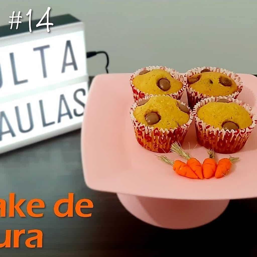 Receita #14 - Cupcake de Cenoura - Duas irmãs na cozinha | Volta às aulas | Lanche Escolar
