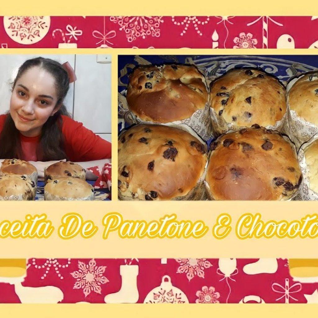 Receita De Panetone E Chocotone