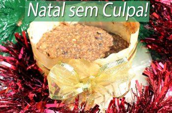 Natal Sem Culpa! Panetone LOW CARB zero açúcar VEGANO | Emagreça com Saúde!