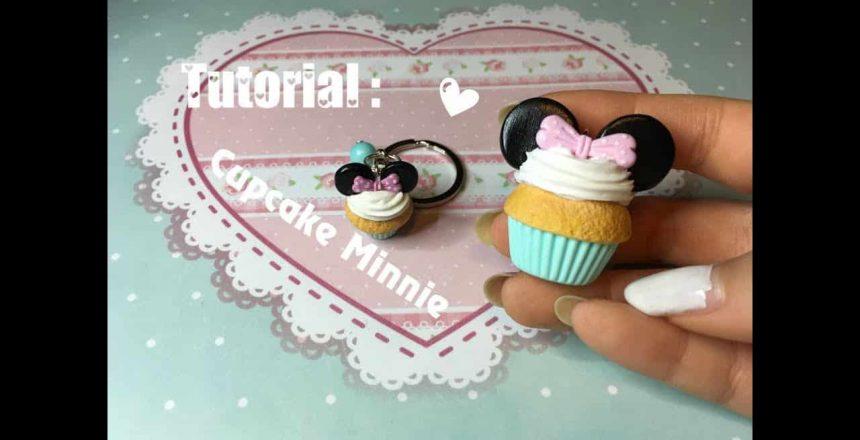 ❥ TUTORIAL : Cupcake Minnie in fimo - polymer clay Minnie's cupcake 🎀