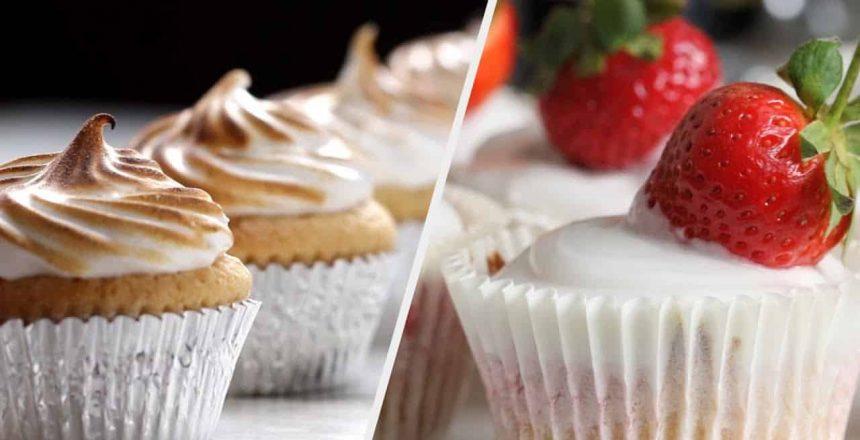 5 Brilliant & Creamy Cupcakes •Tasty