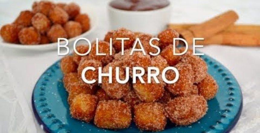 BOLITAS DE CHURRO CON CAJETA (churro bites) - Recetas fáciles Pizca de Sabor