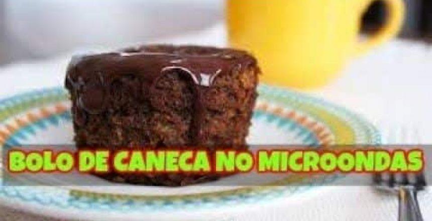 BOLO DE CANECA NO MICROONDAS MAIS FÁCIL DO MUNDO - RECEITAS VR