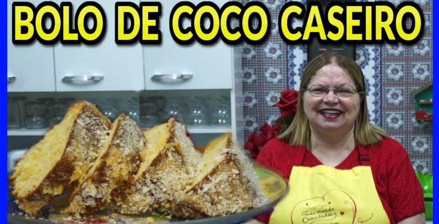 BOLO DE COCO CASEIRO