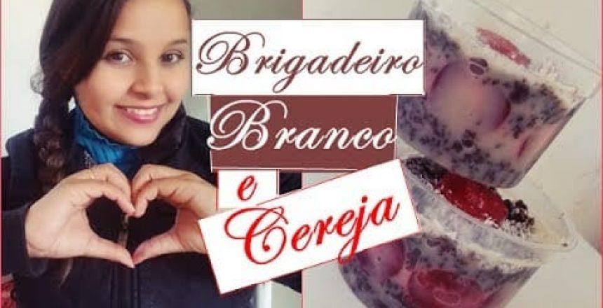 💰😱 BOLO DE POTE BRIGADEIRO BRANCO COM CEREJA - FAÇA E VENDA  👉💲