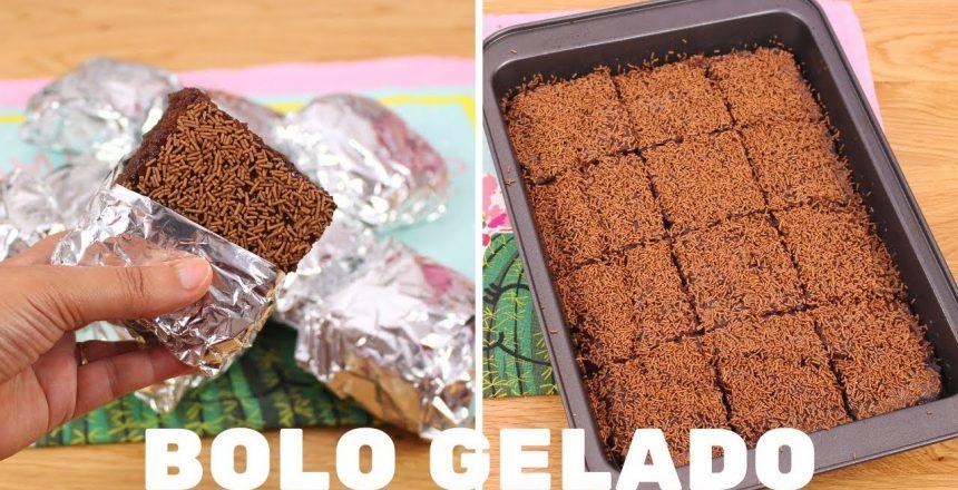 BOLO GELADO DE CHOCOLATE   SUPER MOLHADINHO   CAKEPEDIA
