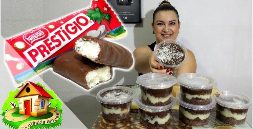 BOLO NO POTE DE PRESTÍGIO PARA VENDAS - PASSO A PASSO - Culinária em Casa