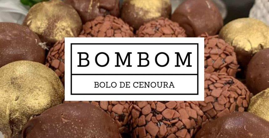 BOMBOM BOLO DE CENOURA | Receita Fácil