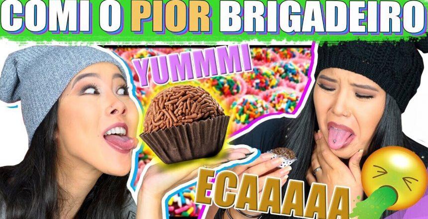 BRIGADEIRO CHALLENGE !! NÃO ESCOLHA O TROLLADO! | Blog das irmãs