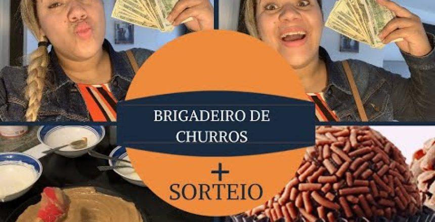 BRIGADEIRO DE CHURROS C/DOCE DE LEITE