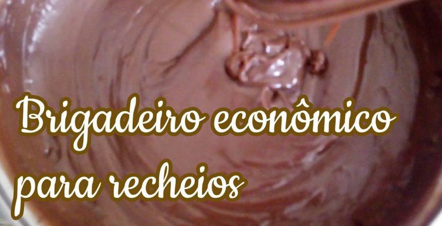 BRIGADEIRO PARA RECHEIOS MUITO ECONÔMICO, BRIGADEIRO PARA RECHEIO DE BOLO, TRUFAS, BOLO NO POTE
