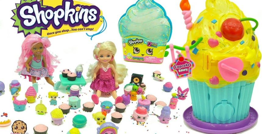 Barbie Kids Go To Shopkins Limited Edition Cupcake Queen Exclusive Sprinkle Party