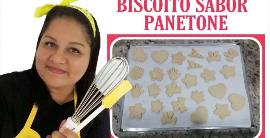 Biscoito Sabor Panetone