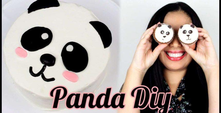 Bolo Panda | Como Fazer Bolo Panda | Cupcakes de Panda | Panda DIY | Cakepedia