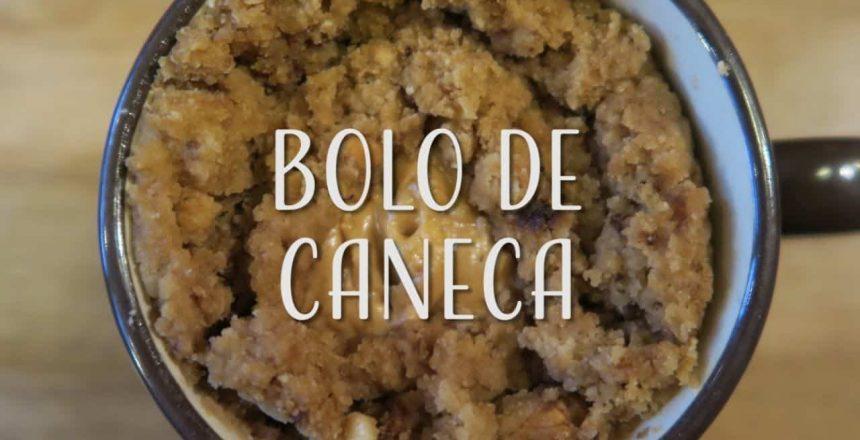 Bolo de Caneca Vegano