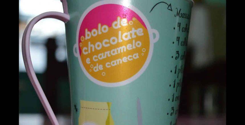 Bolo de Caneca no microondas| Chocolate com Caramelo | VEDA #25