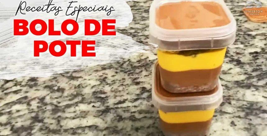 Bolo de Pote Fácil de Fazer e Vender | Receitas Especiais Ewerton Santana e Chef Marcos Aurélio