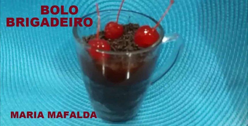 Bolo de caneca de chocolate, Bolo de chocolate /MARIA MAFALDA